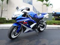 Presenting the 2008 Suzuki GSX-R600. It is the GSX-R of