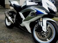 2008 Suzuki GSXR 600,very well maintained,garage