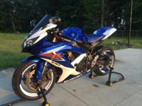 2008 GXSR 600 Blue/White for sale. $5500 OBO.