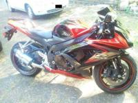 2008 Suzuki GSXR in Excellent Condition Orange and