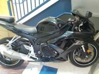 For sale, 2008 Suzuki GSX-R600K8. In very good
