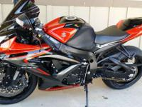 2008 Suzuki GSXR750 CLEAN GSXR750 RARE COLOR!! Very