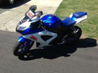 2008 Suzuki gxsr 600 Mileage 12k New tires, chain, and