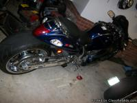 2008 hayabusa ,alarm.light kit,240 big tire, chrome