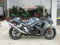 That's why the new 2008 Hayabusa is so impressive -
