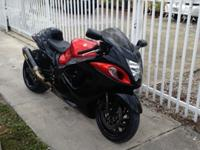 2008 SUZUKI HAYABUSA BLACK & ORANGENEVER DROPPED OR