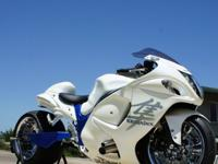 Year: 2008 Exterior Color: WhiteMake: Suzuki Engine