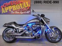 2008 Suzuki M109 motorcycle for sale with chrome