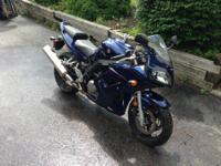 2008 SUZUKI SV650S THAT IS IN EXCELLENT CONDITION! THIS