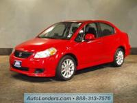 This CERTIFIED preowned 2008 SUZUKI SX4 comes equipped