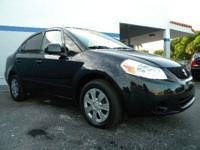 Options Included: Safety Certified Suzuki Sx4 With Full