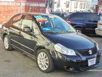 """ONE OWNER"" LOW MILEAGE 2008 SUZUKI SX4 SPORT SEDAN"