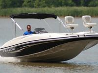 2008 Tahoe 215 Fish Deck edition deck boat. This one