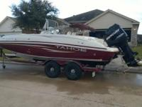 2008 Tahoe 215CC. If you love fishing or spending