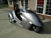 The Stallion is a new kind of motorcycle trike from the