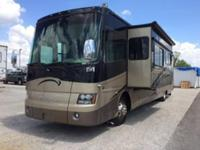 This is a smoke free 2008 Tiffin Phaeton 40 QSH, with