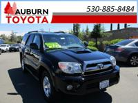 LOW MILES, 4WD, MOON ROOF!  This 2008 Toyota 4Runner