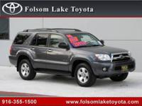 Folsom Lake Toyota presents this 2008 TOYOTA 4RUNNER