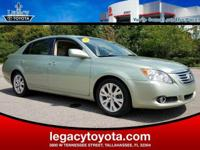 Clean CARFAX. New Price! LEATHER, POWER SUNROOF, Avalon