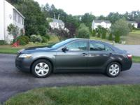 2008 TOYOTA CAMRY LE FRONT WHEEL DRIVE SEDAN. Well