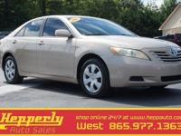 Clean CARFAX. This 2008 Toyota Camry LE in Desert Sand