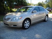 Options Included: 2008 Toyota Camry LE, 2.4 I-4 4 Cyl.