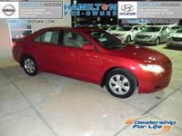 This 2008 Toyota Camry LE 4D Sedan is a GREAT LOOKING