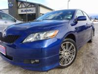 Options:  2008 Toyota Camry Se|Blue|6 Speakers|Am/Fm