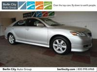 Factory Certified 2008 TOYOTA CAMRY SE sedan,one owner