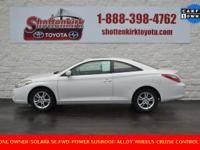 Options:  2008 Toyota Camry Solara Se|Aluminum/Alloy