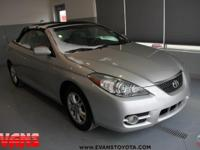 SILVER 2008 Toyota Camry Solara SE FWD 5-Speed