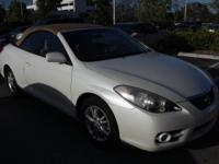 CARFAX One-Owner. Clean CARFAX. White Pearl 2008 Toyota