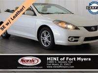 This 2008 Toyota Camry Solara SE comes well-equipped