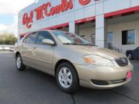 Come see are 2008 Toyota Corolla LE with 64k Front
