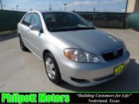 Options Included: N/A2008 Toyota Corolla LE, silver