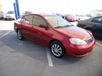 Exterior Color: red, Body: 4 Dr Sedan, Engine: 1.8 4