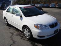 2008 Toyota Corolla LE Automatic Sedan. Get over 40