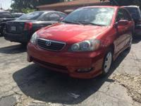 2008 Toyota Corolla S 1.8 L Automatic with 96,502