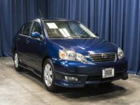 Clean Carfax One Owner Sedan!  Options:  Rear