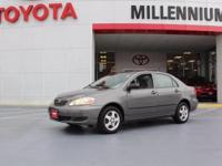 This 2008 Toyota Corolla has great acceleration and