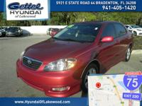 RETIREE OWNED,MINT CONDITION!!!. Corolla S, 4D Sedan,