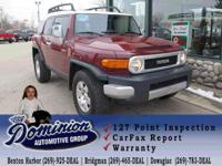 Take a look at this 2008 Toyota FJ Cruiser with 76,607