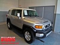 FJ Cruiser trim. Toyota Certified, Excellent Condition,