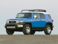 2008 Toyota FJ Cruiser CARFAX One-Owner.Odometer is