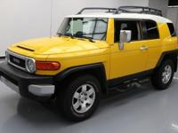 This awesome 2008 Toyota FJ Cruiser 4x4 comes loaded