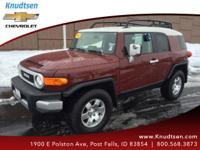 Hold on to your seats!!! This FJ Cruiser has less than