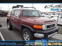 Boasts 20 Highway MPG and 16 City MPG! This Toyota FJ