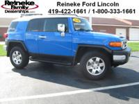 Low miles on this one owner FJ Cruiser. Lots of rugged