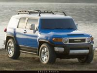 This 2008 Toyota FJ Cruiser 4dr 4x4 SUV features a 4.0L