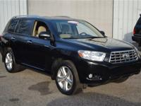 Low Miles This 2008 Toyota Highlander 4WD 4dr Limited